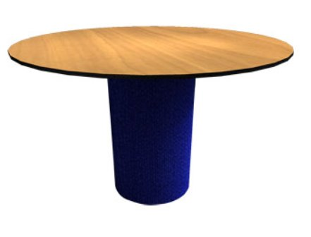 Tradition Pedestal Round Conference Table With Split Top - Round pedestal conference table