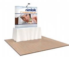 Nimlok 6ft Curved Compact Tabletop Kit