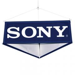Hanging Fabric Signs