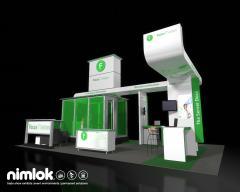 Nimlok Custom Modular Exhibit System