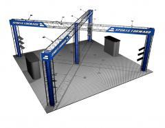 Trussworks EZ12 Collapsible Truss System