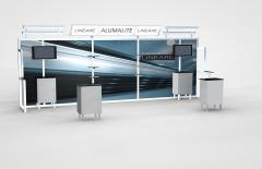 20 Foot Alumalite Lineare Hybrid Display AL8