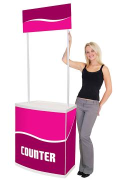 Promotional Display Counter