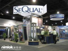 Nimlok Custom 20'x20' Exhibit System
