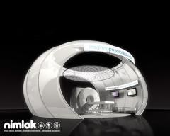 Nimlok Custom Tension Fabric Exhibit System