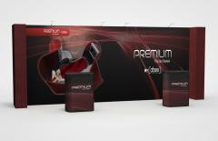 20 Foot Abex Premium Straight/Returns Graphic/Fabric Kit