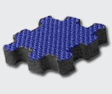 Anti Fatigue Interlocking Carpet Tiles