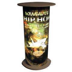 Illuminated Advertising Column