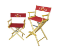 Imprinted Directors Chairs Bar Height