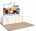Nimlok 8ft Curved Compact Tabletop Kit