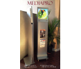 MediaPro kiosks allow your exhibitors to educate, inform, advertise and market their products/services using 21st century display technology and state-of-the-art graphics to aid the salesperson.